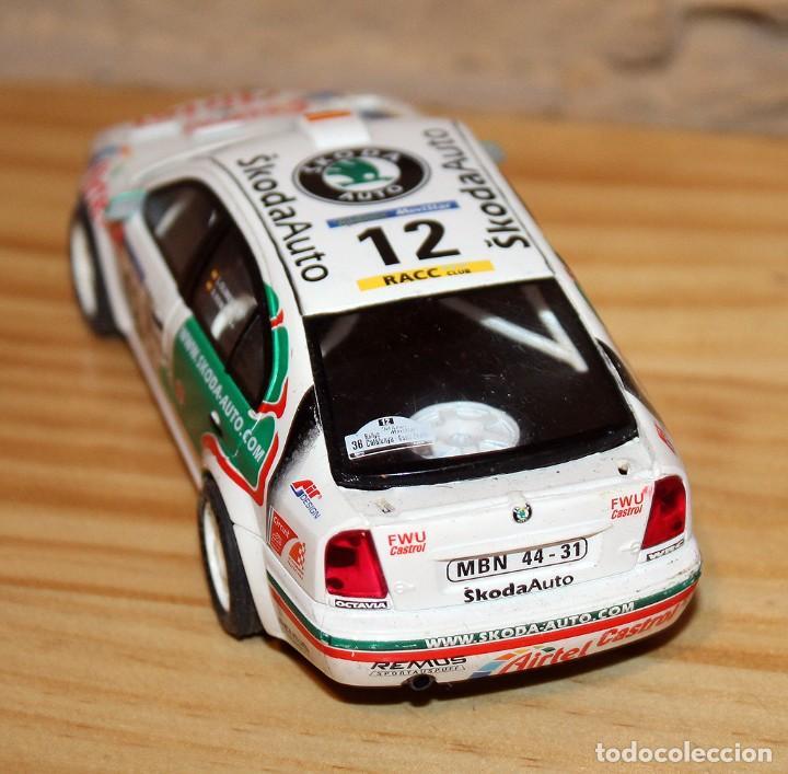 Scalextric: SCALEXTRIC TECNITOYS - SKODA OCTAVIA WRC RX-81 - Foto 3 - 206307070