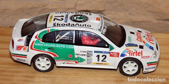 Scalextric: SCALEXTRIC TECNITOYS - SKODA OCTAVIA WRC RX-81 - Foto 4 - 206307070