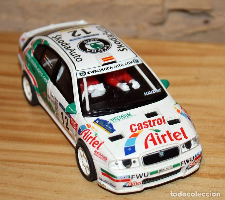 SCALEXTRIC TECNITOYS - SKODA OCTAVIA WRC RX-81 (Juguetes - Slot Cars - Scalextric Tecnitoys)
