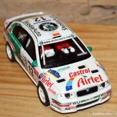 Scalextric: SCALEXTRIC TECNITOYS - SKODA OCTAVIA WRC RX-81. Lote 206307070