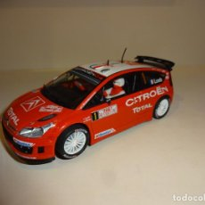 Scalextric: SCALEXTRIC. CITROEN C4 WRC. LOEB. Lote 206418138