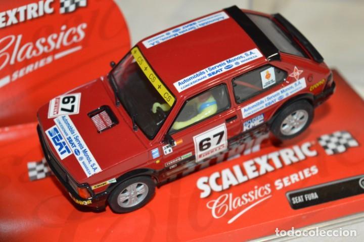 SEAT FURA - SCALEXTRIC CLASSICS SERIES TECNITOYS REF. 6313 - ESTADO EXCELENTE - ¡MIRA FOTOGRAFÍAS! (Juguetes - Slot Cars - Scalextric Tecnitoys)