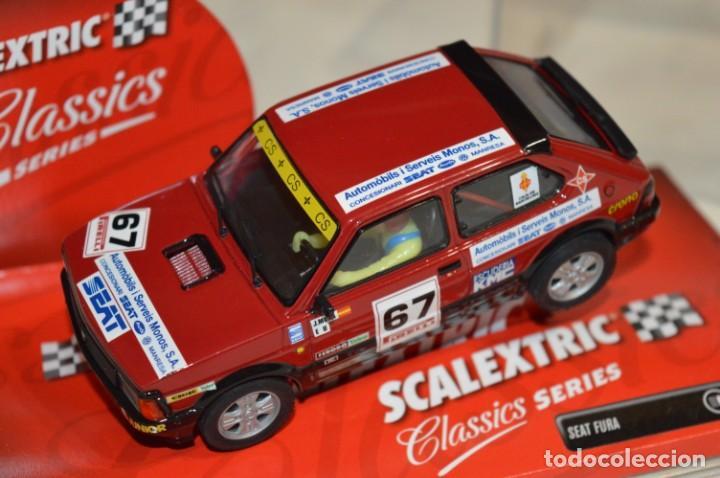 Scalextric: SEAT FURA - Scalextric CLASSICS Series Tecnitoys Ref. 6313 - Estado EXCELENTE - ¡Mira fotografías! - Foto 4 - 206813632