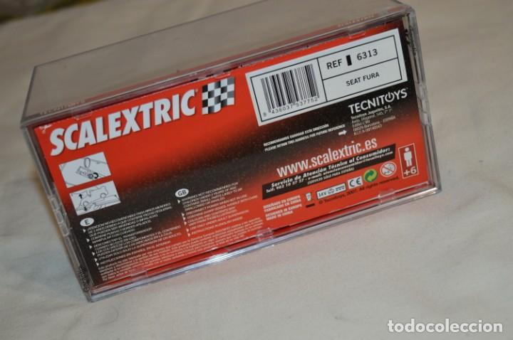 Scalextric: SEAT FURA - Scalextric CLASSICS Series Tecnitoys Ref. 6313 - Estado EXCELENTE - ¡Mira fotografías! - Foto 11 - 206813632