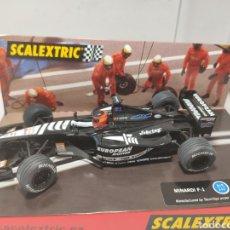 Scalextric: SCALEXTRIC MINARDI F1 GP AUSTRALIA 2001 FERNANDO ALONSO SCX TECNITOYS REF. 6070. Lote 206816511