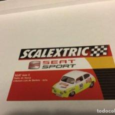 Scalextric: TARJETA SCALEXTRIC SEAT 600 E. Lote 207441532