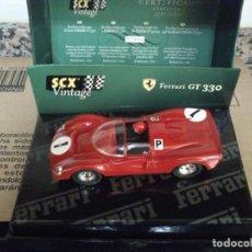 Scalextric: SCALEXTRIC VINTAGE FERRARI GT330 VINTAGE SERIE LIMITADA DE 3000 UDS NUEVO. Lote 208148455
