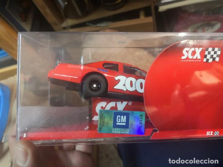 Scalextric: 63430 - MUY RARO - NASCAR - CREVROLET MONTECARLO HOBBYTOWN DE SCALEXTRIC - Foto 6 - 209097005