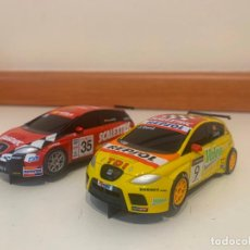 Scalextric: PACK SEAT LEON SCALEXTRIC 1/43. Lote 209929437