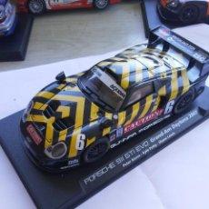Scalextric: PORSCHE 911 GTI EVO GRAND-AM DAYTONA 2003 FLY SLOT .COCHE TIPO SCALEXTRIC LEER BIEN. Lote 210017690