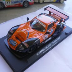 Scalextric: MARCOS LM 600 BELCAR 2003 FLY SLOT,TIPO SCALEXTRIC. Lote 210018761