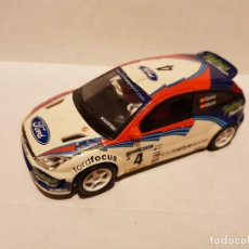 Scalextric: FORD FOCUS CARLOS SAINZ SCALEXTRIC CON LUCES. Lote 210072875