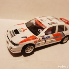 Scalextric: MITSUBISHI LANCER CON LUCES SCALEXTRIC. Lote 210073988