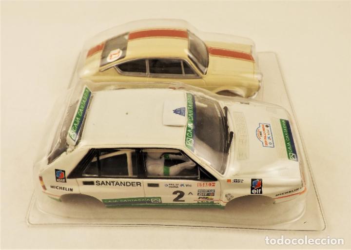 Scalextric: Slot Carrocerías Seat 850 coupe y Lancia - Foto 5 - 210286873