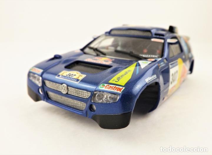 CARROCERIA SLOT VOLKSWAGEN TOUAREG C. SAINZ (Juguetes - Slot Cars - Scalextric Tecnitoys)
