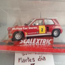 Scalextric: RENAULT R5 PHILIPS GUILLERMO BARRERAS. Lote 210424007