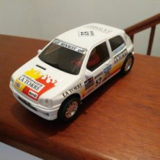 Scalextric: RENAULT CLIO NINCO TIPO SCALEXTRIC.MUY NUEVO. Lote 210653999