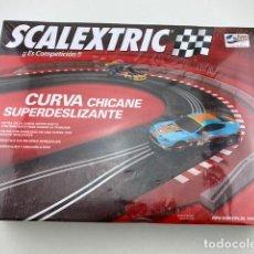 Scalextric: CURVA CHICANE SUPERDESLIZANTE DE SCALEXTRIC. Lote 211770482