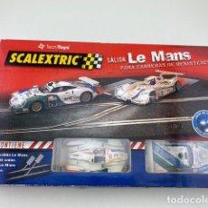 Scalextric: SALIDA LE MANS DE SCALEXTRIC. Lote 211770556