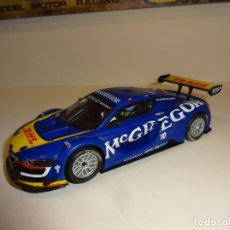 Scalextric: SCALEXTRIC. RENAULT SPORT RS01 AZUL MCGREGOR. Lote 212411805