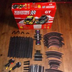 Scalextric: LOTE SCALEXTRIC COMPACT GT ESCALA 1:43. Lote 212572312