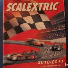 Scalextric: SCALEXTRIC ORIGINAL: CATALOGOS 2010 - 2011. Lote 212959093