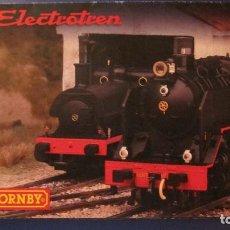 Scalextric: HORNBY ELECTROTREN: CATALOGO DESPLEGABLE ESCALA H0. Lote 240819550