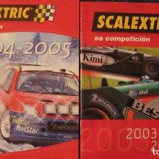 Scalextric: SCALEXTRIC ORIGINAL: DOS CATALOGOS 2003-2004 Y 2004-2005. Lote 213422278