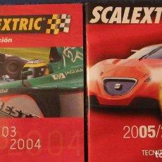 Scalextric: SCALEXTRIC ORIGINAL: DOS CATALOGOS 2003-2004 Y 2005-2006. Lote 213422401