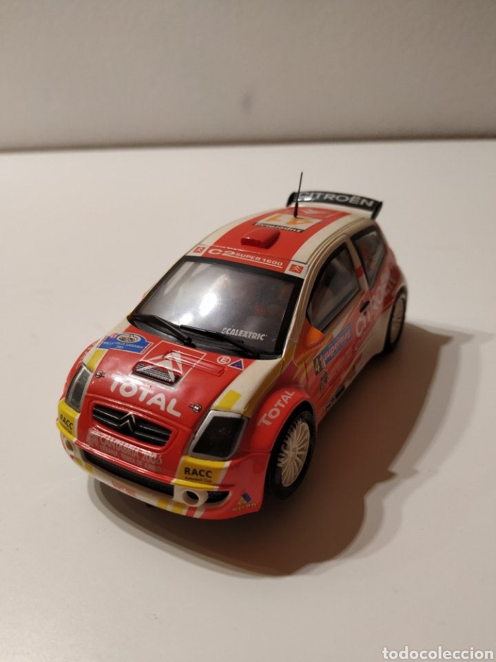 SCALEXTRIC CITROEN C2 (Juguetes - Slot Cars - Scalextric Tecnitoys)