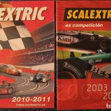 Scalextric: SCALEXTRIC ORIGINAL: DOS CATALOGOS 2003-2004 Y 2010-2011. Lote 213525745