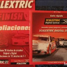 Scalextric: SCALEXTRIC ORIGINAL: GUIA RAPIDA DIGITAL SYSTEM Y AMPLIACIONES. Lote 213600201