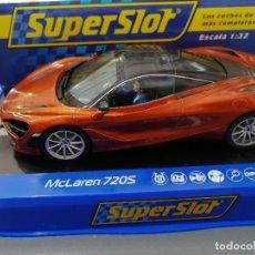 Scalextric: OFERTA - H3895 - MCLAREN 720S AZORES DE SUPERSLOT. Lote 213688331