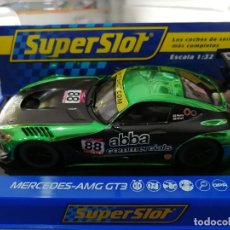 Scalextric: OFERTA - H3942 - MERCEDES AMG GT3 TEAM ABBA DE SUPERSLOT. Lote 213688616