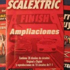 Scalextric: SCALEXTRIC ORIGINAL: LA CARRERA ES TUYA Y GUIA RAPIDA DIGITAL SYSTEM,AMPLIACIONES. Lote 213766470