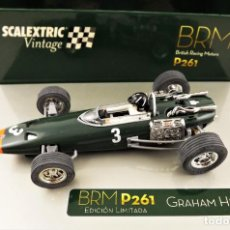 Scalextric: SCALEXTRIC VINTAGE BRM P261 GRAHAM HILL ED. LIMITADA. Lote 213896897