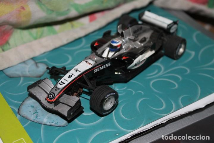 COCHE SCALEXTRIC SIEMENS FORMULA UNO MERCEDES (Juguetes - Slot Cars - Scalextric Tecnitoys)