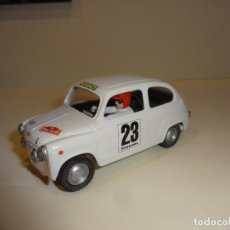 Scalextric: SCALEXTRIC. SEAT 600 BLANCO. COLECCION RALLIES MITICOS. Lote 215706838