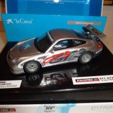 Scalextric: SCALEXTRIC. PORSCHE 911 GT3 CUP. LA CAIXA. REF. 6445. Lote 215963833