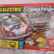 Scalextric: CIRCUITO SCALEXTRIC COPA PEUGEOT DE TECNITOYS. Lote 217241075