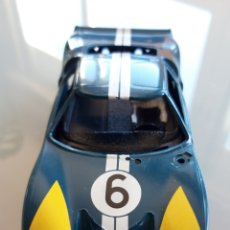 Scalextric: CHASIS, CUERPO Y BANDEJA CON PILOTO FORD GT SCALEXTRIC. Lote 217326193