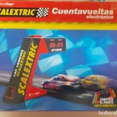 Scalextric: SCALEXTRIC. CUENTAVUELTAS ERLECTRÓNICO EN CAJA ORIGINAL + EXTRAS. EXCELENTE ESTADO.. Lote 217369107