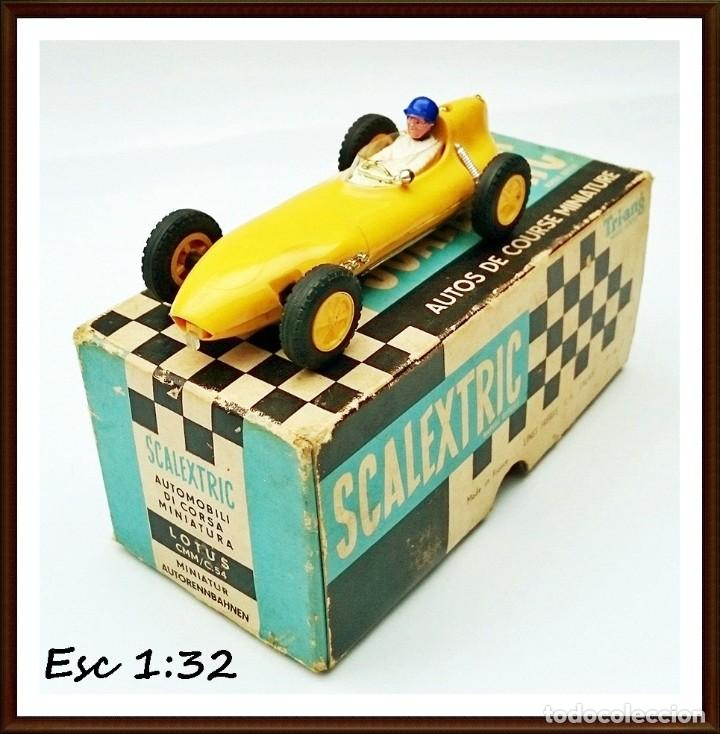SLOT TRIANG SCALEXTRIC - LOTUS 16 - CMC 54 ( MADE IN FRANCE ) (Juguetes - Slot Cars - Scalextric Tecnitoys)