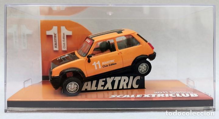 RENAULT R5 COPA COCHE DEL CLUB SCALEXTRIC, AÑO 2011, NUEVO Y PRECINTADO (Juguetes - Slot Cars - Scalextric Tecnitoys)