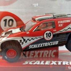 Scalextric: VW TOUAREG SPECIAL EDITION COCHE DEL CLUB SCALEXTRIC, AÑO 2010, NUEVO Y PRECINTADO. Lote 218002405