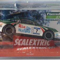Scalextric: COCHE SCALEXTRIC RALLY SLOT FLY TEAMSLOT PORSCHE 911GT3 VALLEJO EDICION NUMERADA. Lote 218019682