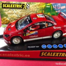 Scalextric: PEUGEOT 307 WRC RALLY DE ARGENTINA. Lote 218089188