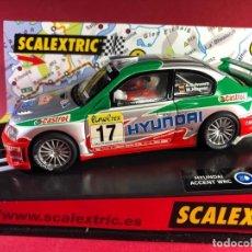 Scalextric: HYUNDAI ACCENT WRC RALLY DE MONTECARLO. Lote 218092353