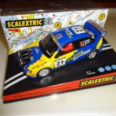 """Scalextric: SCALEXTRIC. SEAT CORDOBA E2 """"MOVISTAR"""". REF. 6072. Lote 218392978"""