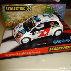 Scalextric: SCALEXTRIC. FORD FIESTA RALLY JWRC. REF. 6162. Lote 218393572